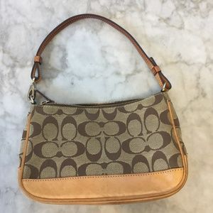 Vintage Coach Mini-Bag
